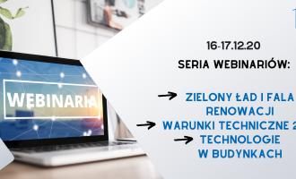Nagranie: Seria webinariów POBE w dniach 16-17.12.2020 r.
