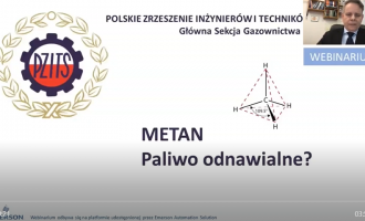 Nagranie: Metan – paliwo odnawialne, 09.12.2020 r.
