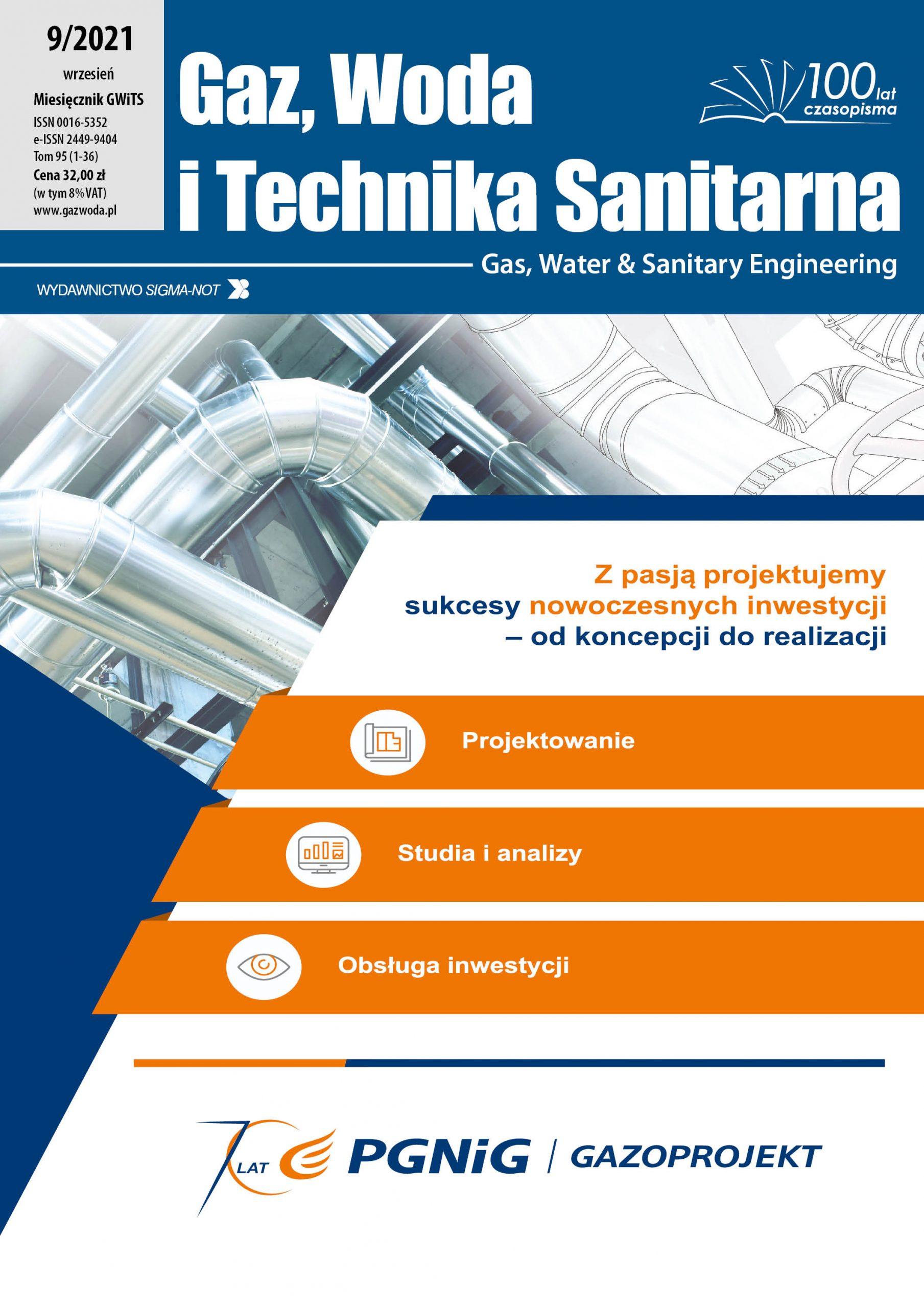 Gaz, Woda i Technika Sanitarna 9/2021