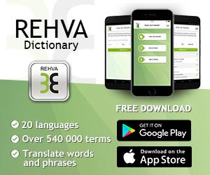 Terminologia HVAC dostępna w 20 językach – pobierz bezpłatną aplikację REHVA Dictionary
