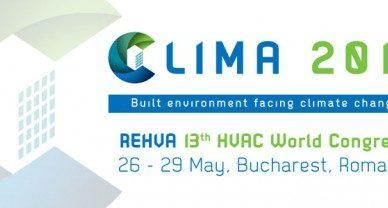 REHVA zaprasza na Clima Conference 2019