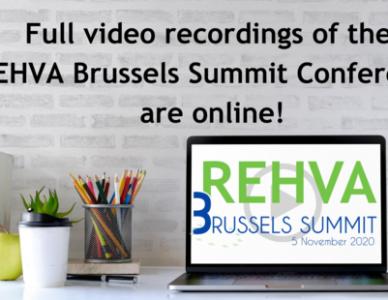 Nagrania: REHVA Brussels Summit 2020