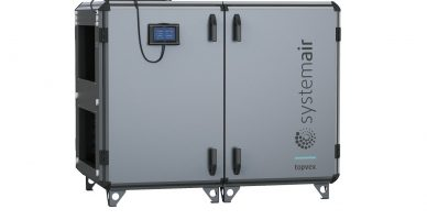 Nowa generacja central wentylacyjnych Systemair Topvex – kamień milowy dla jakości powietrza w pomieszczeniach