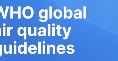 Globalne wytyczne WHO dotyczące jakości powietrza